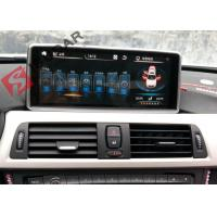 Buy cheap Mirrorlink Android 4.4 Car Dvd Player , BMW 1 Series Sat Nav System Support IDrive from wholesalers