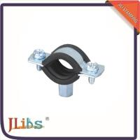 Buy cheap Durable Round Rubber Lined Pipe Clamps Mounting Bracket Environment Friendly from wholesalers