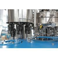 Buy cheap Soda / Soft Drink Filling Machine Line For Glass Bottle , 2000BPH from wholesalers