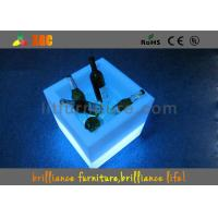 Buy cheap 16 colors changeable LED cube / LED Ice Bucket with 100-240V 50.60Hz Power Supply from wholesalers