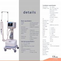 Buy cheap CE proved hospital concentrator oxygen ventilator price ventilator machine SH300 from wholesalers