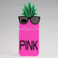 Buy cheap Silicon Case For iPhone 4/4s with Unique Pineapple Design from wholesalers