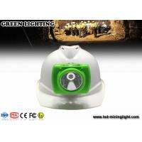 Buy cheap 18650 Li - Ion Battery LED Mining Cap Lights from wholesalers