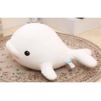 Buy cheap Girly gift 35CM Fill Foam particles Custom Stuffed Toys White dolphin dolphin from wholesalers