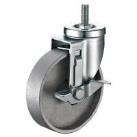Buy cheap Heavy Duty Side Mount Casters / Industrial Cast Iron Caster Wheels 5X1-1/4 from wholesalers
