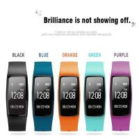 Buy cheap dynamic heart rate smart bracelet  motion tracking and detection of sleep, sedentary reminds, movement patterns  GPS from wholesalers