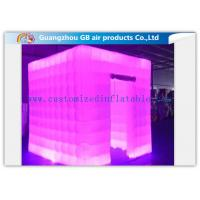 Buy cheap Multicolor Led Inflatable Photo Booth Enclosure / Inflatable Photo Studio for Club product