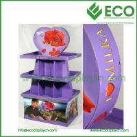 Buy cheap pallet display, floor promotional rack, point of purchase cardboard display from wholesalers