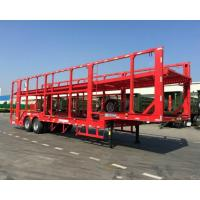 Buy cheap 17 Meters Automobile Transport Carriers Double Axles 2 Floors Car Hauler Truck from wholesalers