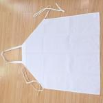 Buy cheap 100% Spun Polyester Bib Apron white 30*35 from wholesalers