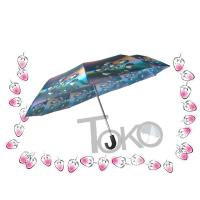 Buy cheap Compact Sun Auto Open Umbrella , Self Opening And Closing UmbrellasSolid Frame from wholesalers