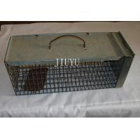 Buy cheap Warehouse Pest Control Traps , Low Carbon Steel Live Silver Cage Mouse Trap from wholesalers