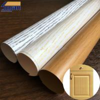 Buy cheap Wood Grain PVC Membrane Film Rough / Smooth Texture , 0.12mm-0.6mm Thickness from wholesalers
