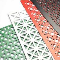 China Slotted hole aluminum perforated metal mesh on sale