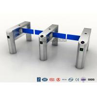 Buy cheap TCP / IP Security Electro Lock Door Swing Pedestrian Barrier Gate Turnstyle Fastlane Glass from wholesalers