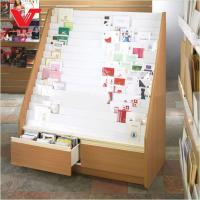 Buy cheap Wooden Display Stand For Promotion Of Greeting Card and magazines from Wholesalers