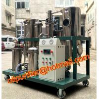 Buy cheap Used Cooking Vegetable Oil Cleaning Machine,Stainless Steel Coconut Oil Filtration Equipment with oil storage tank from wholesalers