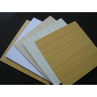 Buy cheap 4X8 inches Melamine faced MDF,laminate MDF for furniture cabinet from wholesalers