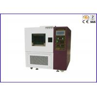 Buy cheap Programmable High Low Temperature Test Chamber With Air Cooled / Water Cooled from wholesalers