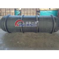 Buy cheap Customized Ribbed Rubber Boat Fender FOR larges shipyards , oil tankers from wholesalers