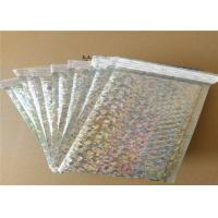 Buy cheap Biodegradable Shiny Holographic Mailing Bags / Bubble Padded Envelope from wholesalers