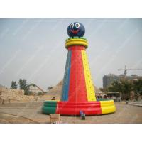 Buy cheap Kids Garden Inflatable Climbing Wall / Toys For Business Rental from wholesalers