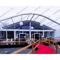 Buy cheap Ceremony / Celebration Party Arch Curved Tent Luxury Aluminum Alloy With Eave from wholesalers