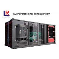 Buy cheap Industrial 900kw Soundproof  Container Genset Diesel Generator Plant with Cummins Engine product