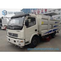 Buy cheap 4 by 2 Street Cleaning Truck Road Sweeper Truck With CY4102-CE4F Engine from wholesalers