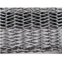 Stainless Steel 304 Wire Conveyor Belts Chain Drive Herringbone Type