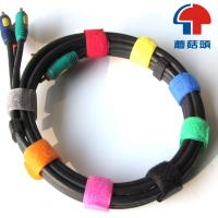 Buy cheap Eco-Friendly logo-printed velcro cable tie , velcro strap from wholesalers
