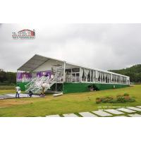 Buy cheap Sound Proof Luxury Wedding Tents With Glass Wall for Conference , Exhibition , Warehouse from wholesalers