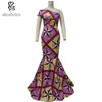 Buy cheap African Lady / Female Wax Fabric African Style Dresses Fashion Sexy 100% Cotton from wholesalers