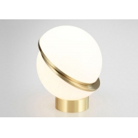 Buy cheap 1.8m Cable Study Spherical Acrylic Dia 300mm Bedside Table Lamp from wholesalers