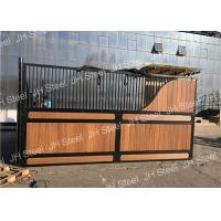 Buy cheap Durable Luxurious Stables Horse Stall Fronts Stable With Sliding Door Panel from wholesalers
