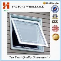 Buy cheap Aluminium profile frosted glass aluminium toilet window from wholesalers