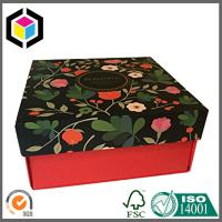 Buy cheap Color Print Flower Cardboard Paper Box; Matte Gift Packaging Box from wholesalers