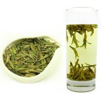 Buy cheap Fermented Processing Organic Green Tea West Lake Longjing Tea Flat Leaves from wholesalers