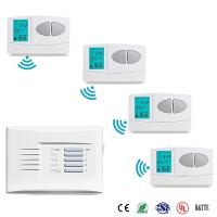 Buy cheap Wireless Weekly Wireless Programmable Room Thermostat , Wireless House Thermostat from wholesalers
