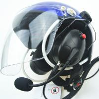 Buy cheap Best noise cancel Paramotor helmet with full headset EN966 standard from wholesalers