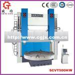 Buy cheap SCVT500H/W Double Column Vertical Lathe CNC Vertical Lathe Machine from wholesalers