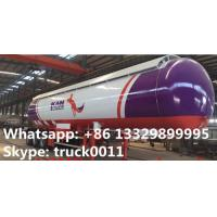 Buy cheap best price ASME standard lpg gas storage tank trailer for sale, China best price road transported propane gas tank from wholesalers