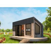 Buy cheap Lightweight WPC Flooring Prefabricated Tiny House Engineered Framing System product