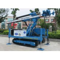 ISO9001 Dth Hammer Anchor Drilling Rig Foundation Piling Machine MDL-135H
