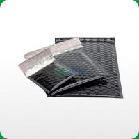 Buy cheap Black metallic bubble mailer with self-adhesive slip from wholesalers