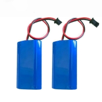 Buy cheap 7.4V 2000mAh 18650 Lithium Ion Battery DSC Rechargeable from wholesalers