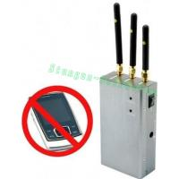 Buy cheap 808HC High Powered Portable GSM+3G Cell phone Mobile Phone Signal jammer from wholesalers