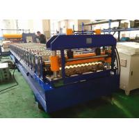 Buy cheap Corrugated Metal Roof Roll Forming Machine For 914mm 1000mm Width Material from wholesalers