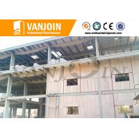 Buy cheap Steel structure eps foam panels , concrete soundproof wall panels house solution from wholesalers