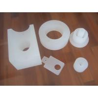 Buy cheap White Plastic CNC Precision Machined Parts , Machinery Casting Part ISO9001 Certificated from wholesalers